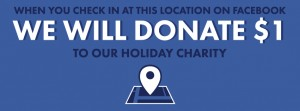 Facebook Holiday charity