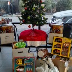 AR&C Self Storage collected gifts for a family through Tender Heart Association
