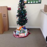 Chester Heights collected gifts for Toys for Tots