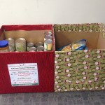 Albany Super Storage collected can goods for their local food bank
