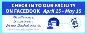Storage Asset Management, Inc. Donation to Make-A-Wish