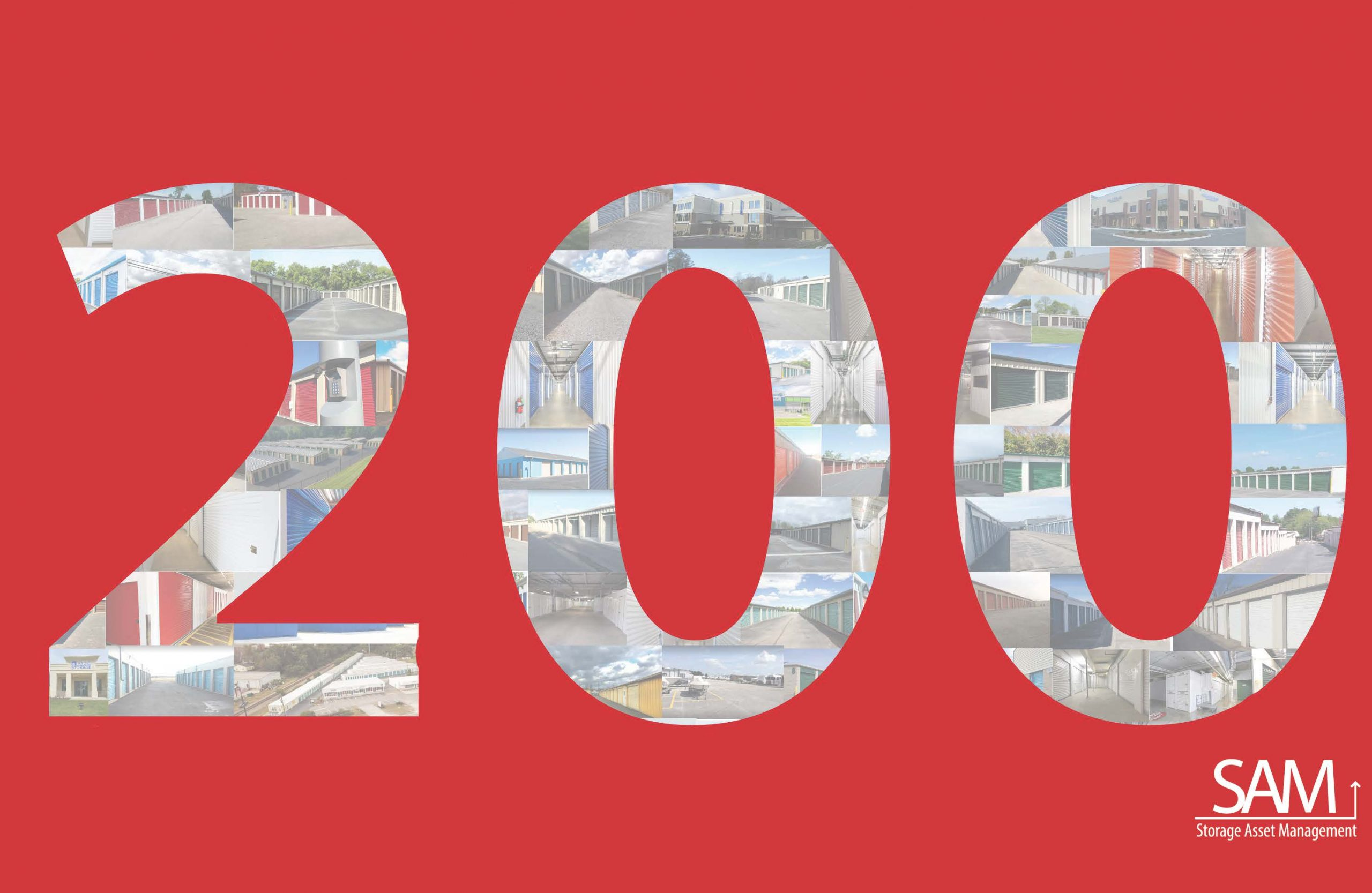SAM 200 stores graphic